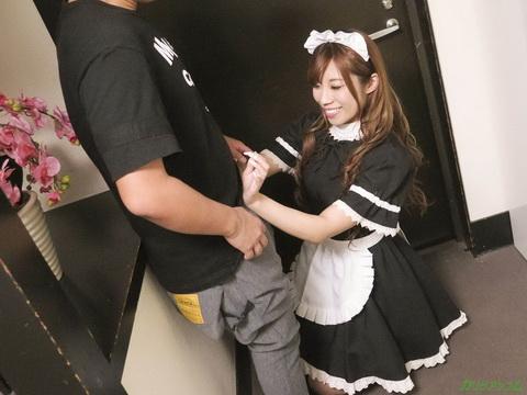 即尺ご奉仕メイド ~ご主人様のおちんぽを掃除させて下さい~ 大咲萌